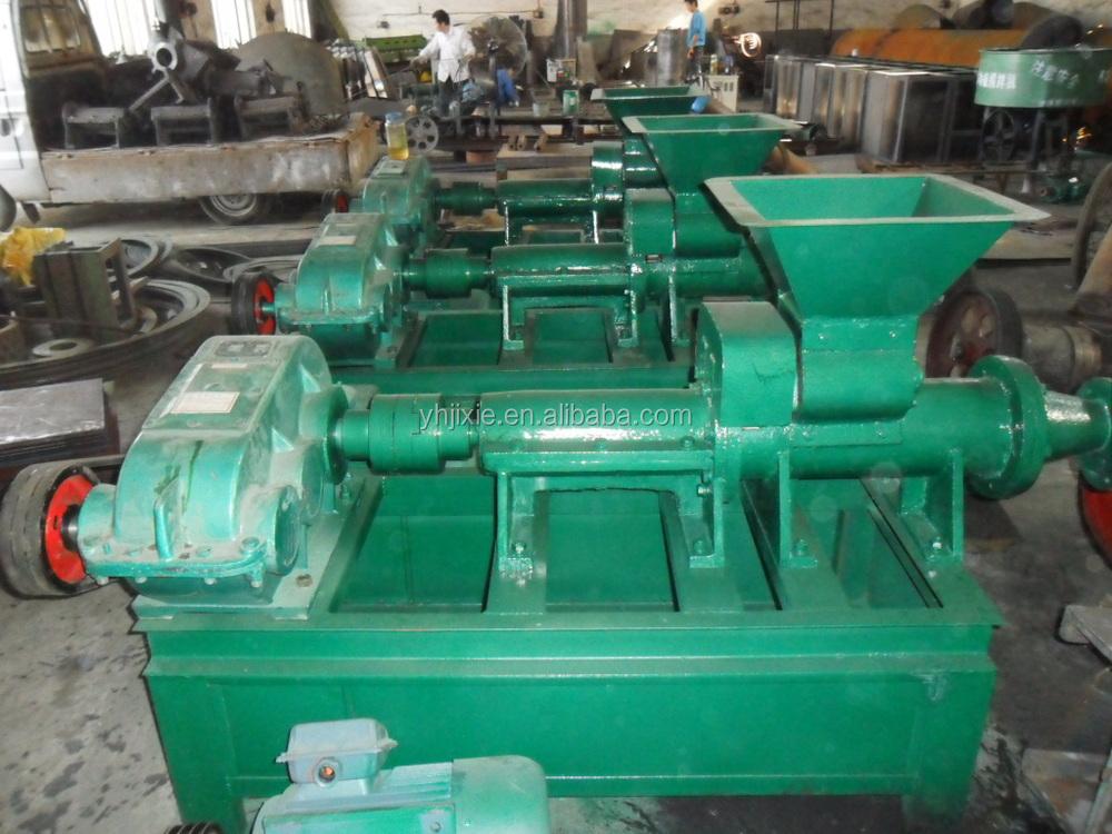 Hot Selling China Coal Charcoal Dust Powder Briquette Press Making ...