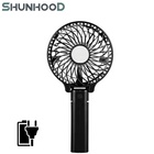 4 Inch USB Rechargeable Fan plastic table fan 10 cm handheld fan 2 in 1