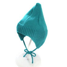 Alibaba best seller cute kids girl boy funny winter hats for baby , winter hats with strings ,knitted baby hat