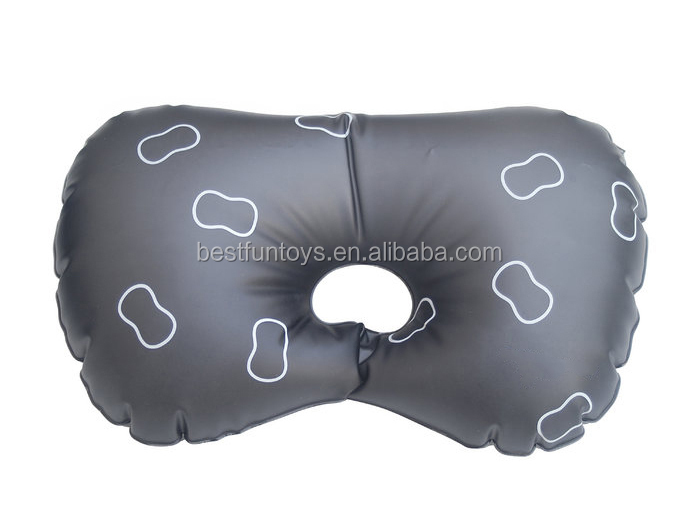 Customized Promotional Pvc Inflatable Bath Pillow With Suction Cup Foldable Plastic Spa Bath Pillow Vinyl Head Bathtub Pillow Buy Inflatable Bath