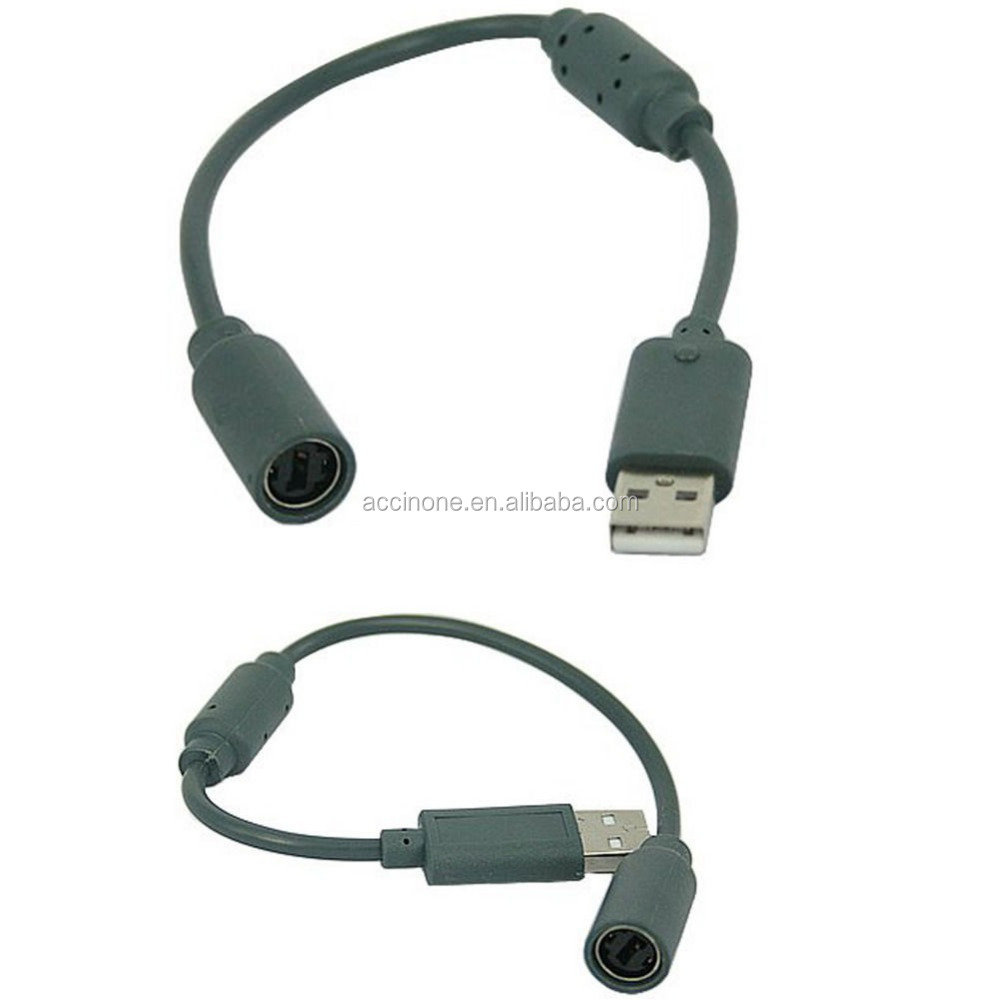 New Converter Adapter Wired Controller Pc Usb Port Cable Cord Lead