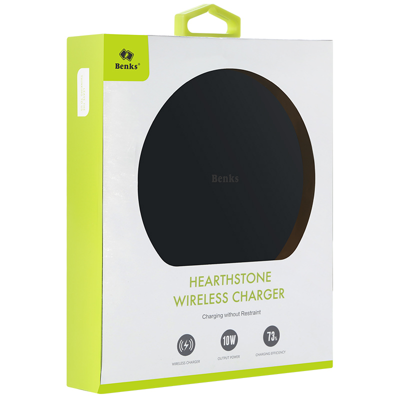 Benks Wireless Charger Hearthstone Rapid Charging Dock 9V CE ROHS FCC Approved Charger MT-6745