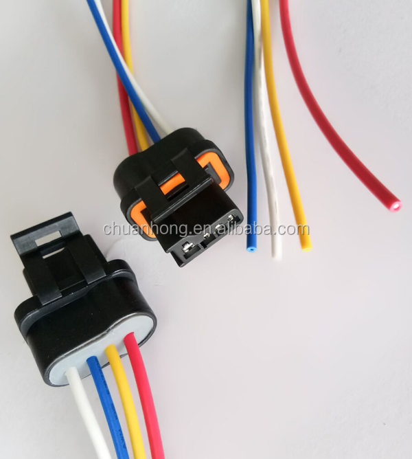 88-92 tpi tbi corvette camaro firebird alternator wiring harness connector  gm