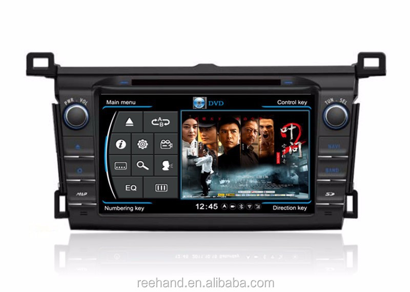 "For Toyota Rav4 2013 android 8"" car dvd, with gps navigation/3G/Wifi/Bluetooth touch screen car dvd player"