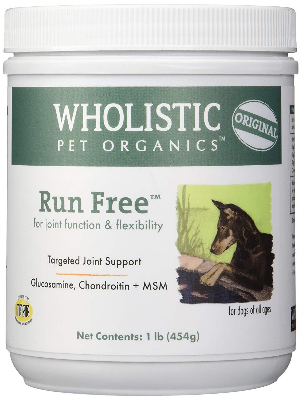 Wholistic Pet Organics Run Free Supplement
