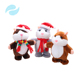 New arrivals 2018 toys hot sale animal toys Hamster can moving with Santa Claus costume plush toys for Christmas gift