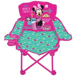 Minnie Mouse Jet Set Fold 'N Go Chair Is a Useful And Portable Seat For Your Little One