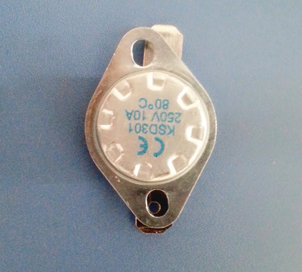 Ksd 301 Capillary Thermostats 250v 10a Heating Element