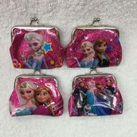 TF-Y02160612017 frozen sofia princess glitter coin purse lovely purse kids change purse