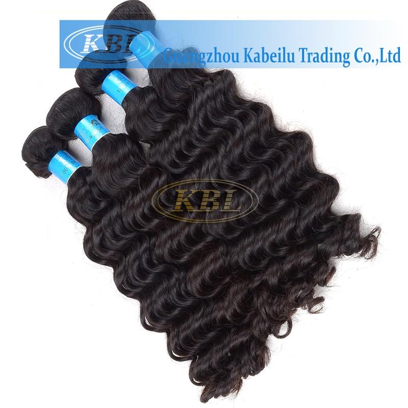 Wholesale Black Hair Products Human Hair Weave Bundles 100
