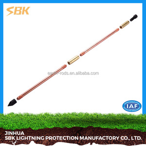 SBK Copper Bonded Steel Grounding Rod Electrical Grounding Rod