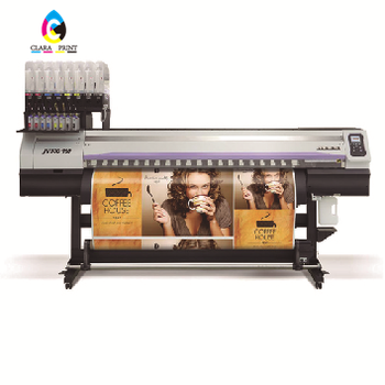 Second Hand High Performance High Speed Mimaki JV300/JV-300 large format printer used with 2 pcs DX7 print head