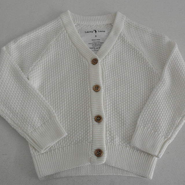 Fashion baby mossstitch knit cardigan sweaters 3ab834bdf