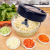 Manual kitchen vegetable chopper meat grinder