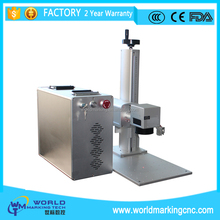 20W fiber laser marking machine for metal,watches,camera,auto parts,buckles