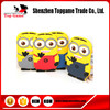 3D Cute Cartoon Despicable Me Minion Soft Rubber Silicone Case For iPad 5 Air 2 Case