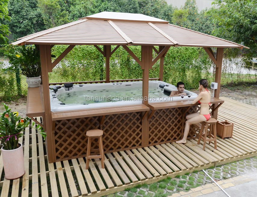 Luxury Big 10 Persons Outdoor spa