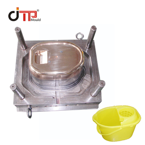 2018 High quality plastic mop bucket mould
