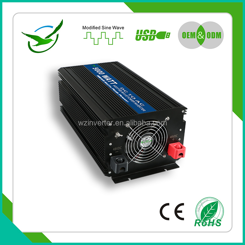 ROHS CE <strong>dc</strong> to automatic change <strong>dc</strong> to ac power inverter 5000w Chinese manufactory/Frequency power inverter 12v 220v 5000w 5kw