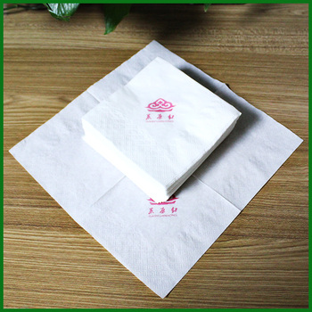 tissue serviette mouth clean paper napkin