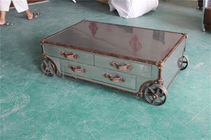 Movable Coffee Table Tea Withe Wheels L935