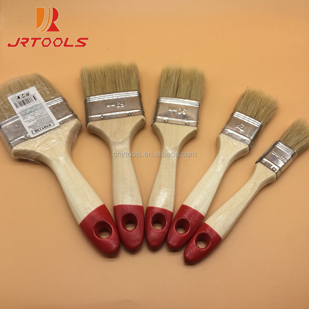 wooden handle paint brush bristle hair for Africa