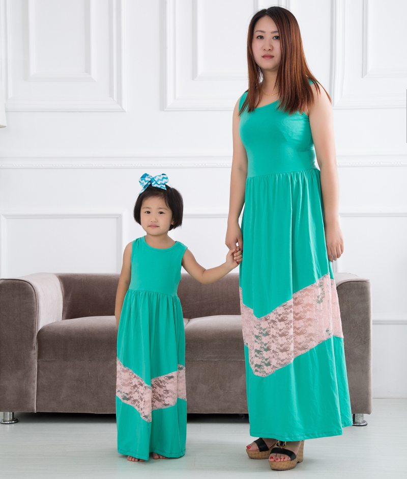 e62fdb18fcc49 Wholesale Mother And Daughter Latest Fashion Dress Designs - Buy ...