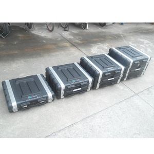 kkmark 2U 4U 6U 8U 10U rack ABS case with handles