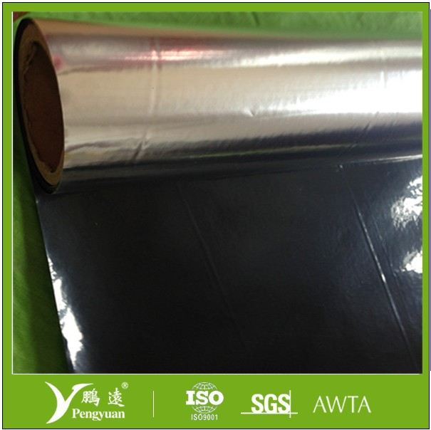 Metallized PET/OPP/CPP laminated with black PE film for packaging