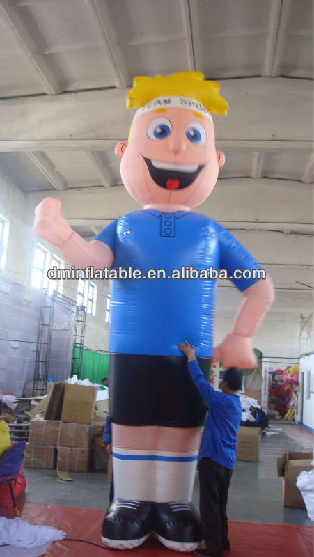 advertising/promotion inflatable happiness boy