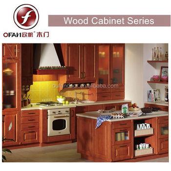 Solid Teak Wood Round Cornerlouvered Kitchen Cabinet Doors Buy