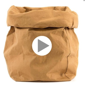 Washable Paper Bags Kraft Paper Bag/Washabke Kraft Paper Fabric Washable Paper/Washable Kraft Paper Storage Bag