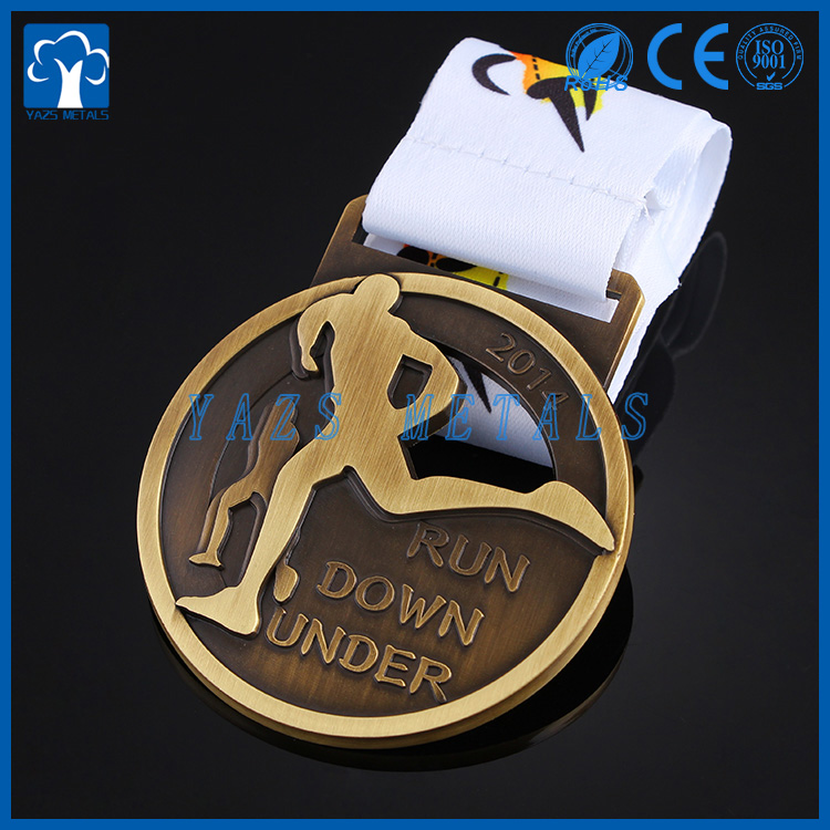 Customized Metal sports marathon running medals