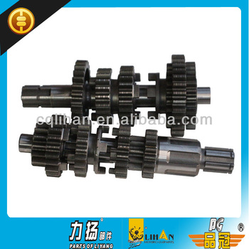 Motorcycle Transmission Parts,Main And Counter Shaft For 200cc Zongshen  Engine From Chongqing - Buy Motorcycle Transmission,Transmission Parts,Main