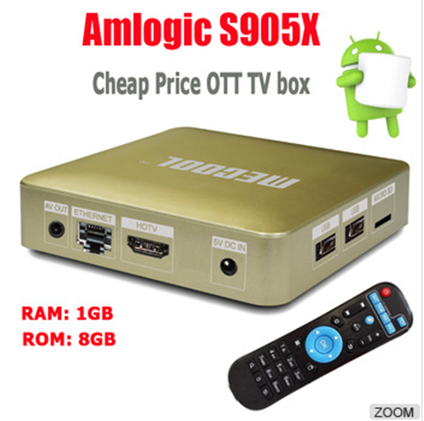 New Products s905x Octa Core 4K Full HD Digital Cable TV Iptv Set Top Box