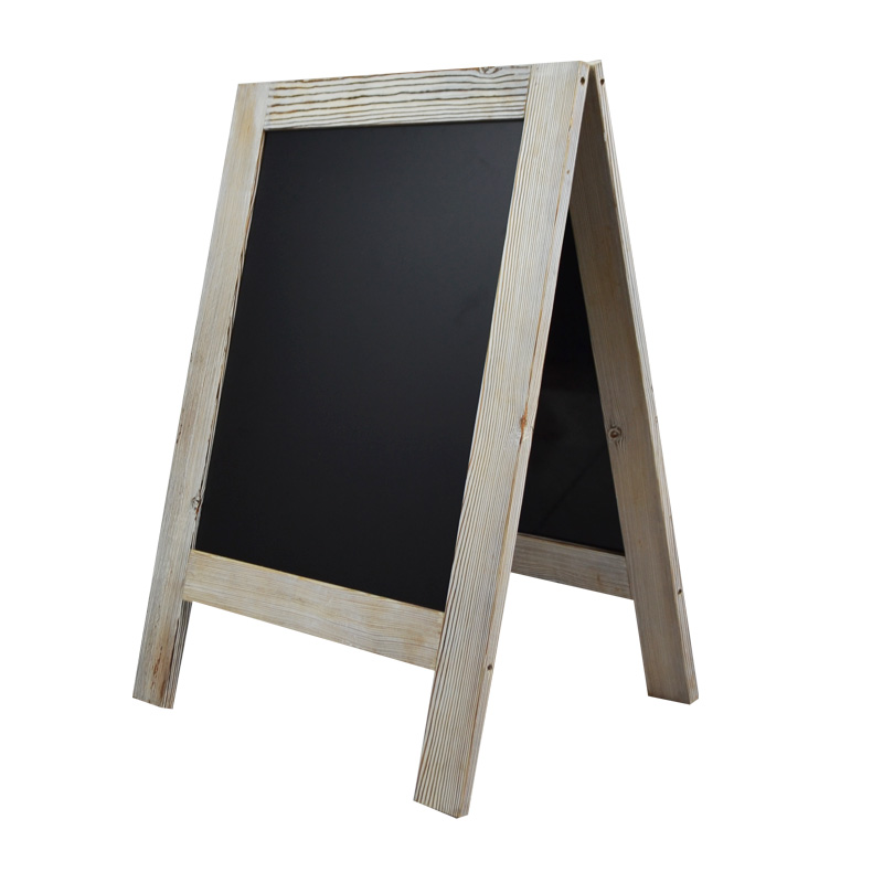 rustic magnetic chalkboard large