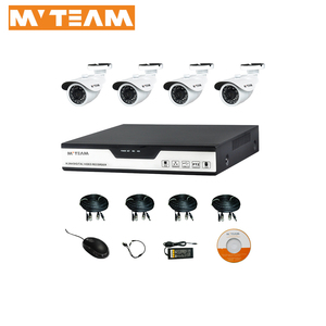 Indoor Security Camera Low Price 4ch NVR 720P dome IP camera network security system