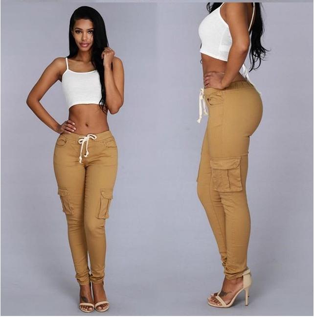 Alto Elastico Pantalones Casuales De Las Mujeres Skinny Pantalon Largo Mujer Lazo A La Cintura De Moda Pantalones Buy Pantalones De Pantalon Largo De Alta Elastico Pantalones De Lapiz Product On