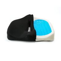 Memory Foam Gel Foam Seat Cushion Cool Therapeutic Coccyx Shock Absorbing Seat Cushion