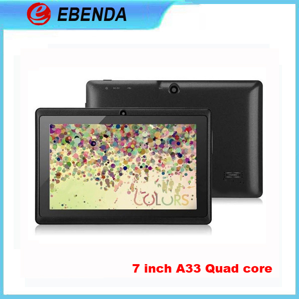 Colorful tablets Allwinner A33 quad core 7 inch android 4.4 tablet