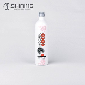750ml empty aluminum bulk liquor wine bottles