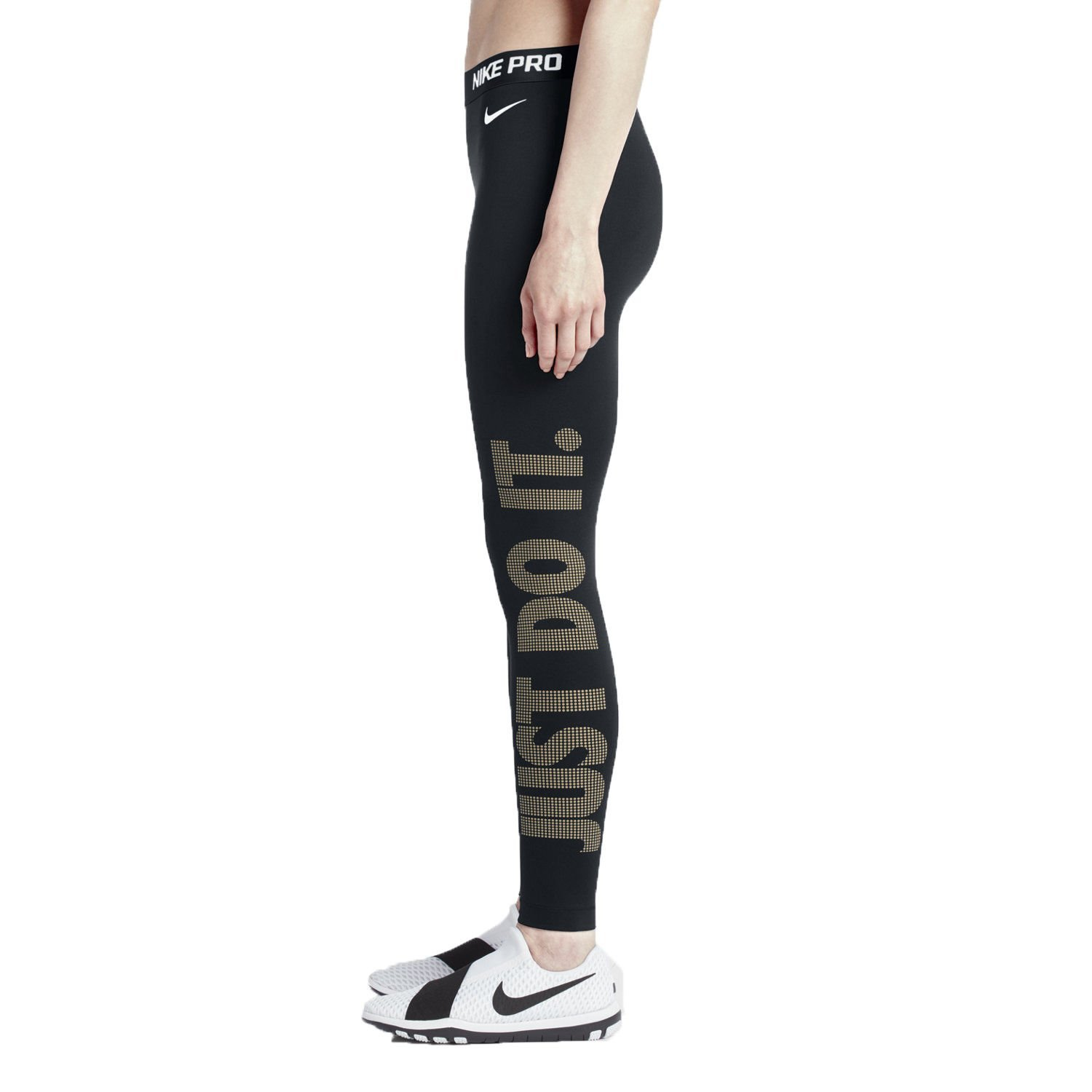 8d8441faccdb Get Quotations · Nike Pro Warm Women s Graphic Training Tights (Large