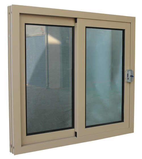 Aluminum Windows Product : Office interior aluminum frame glass sliding reception