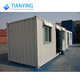 Philippines Two Bed Room Flat Pack Container House for Bar/restaurant/office