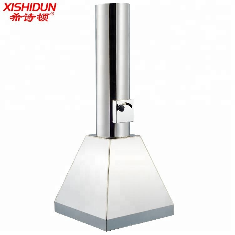 8502 Ceiling mounted Round Chemical 304SUS Lab Atom Extractor Hood