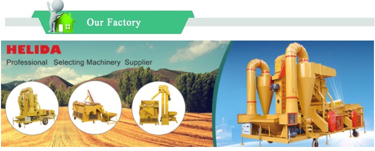 Seed Cleaner Grader Machine from HELIDA