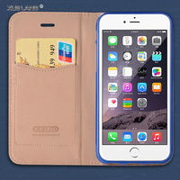 2016 New design Universal PU leather phone wallet case for ZTE Blade A1 credit card case with stand