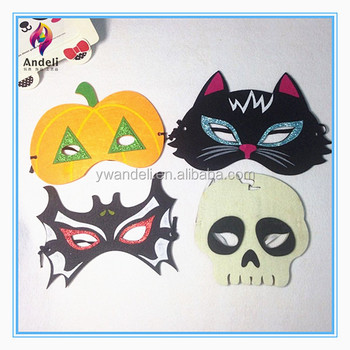 Cheap Kids Handmade Felt Scary Halloween Mask - Buy Mask,Halloween ...