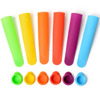 Free Shipping & Wholesale New Hot Silicone Popsicle Ice Cream Jelly Lolly Pop Maker Molds