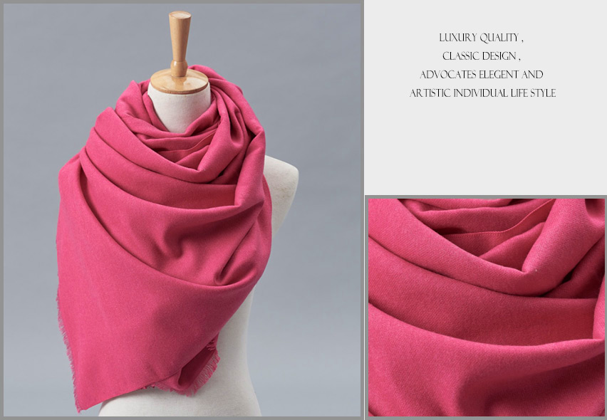 2020 Hot Sell Small No MOQ Wholesale Solid Color Woven Women Men Cashmere Shawl Scarf